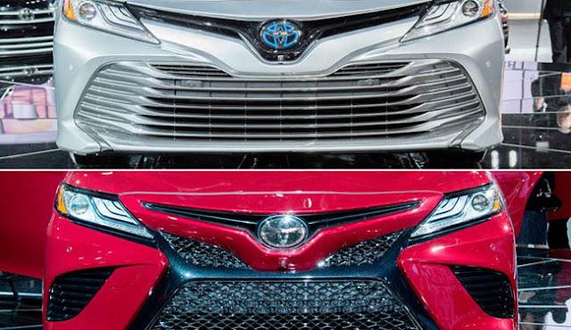 2018 Toyota Camry Rear Bumper
