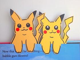 Paint Chip Pokemon Pikachu Bookmarks- Easy Kids Craft!