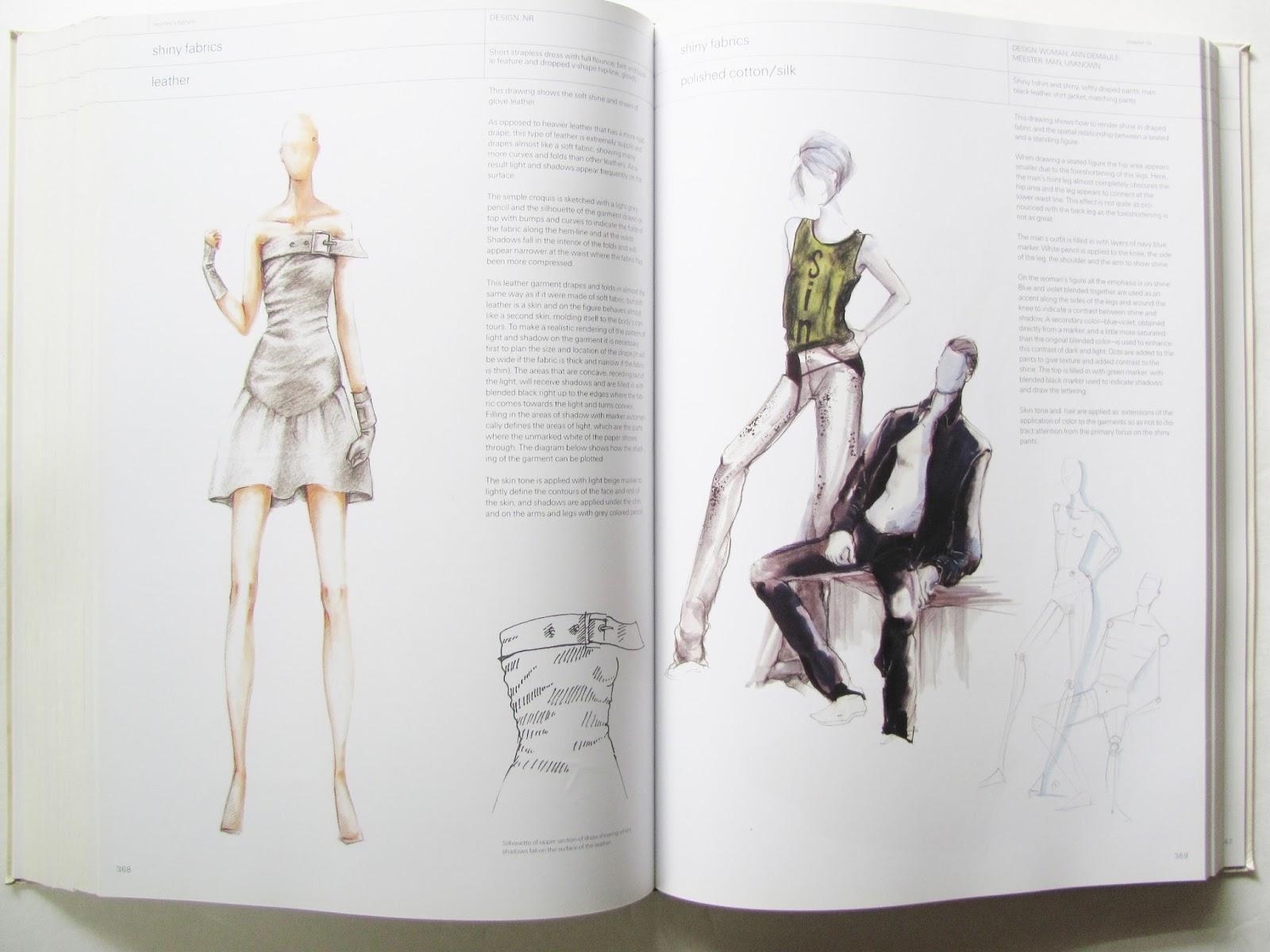 Pintucks: Fashion Illustration: Three Books on Fashion Drawing