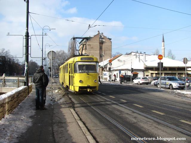 Сараево - старинный трамвай