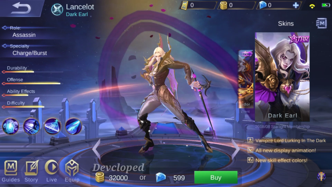 Image result for lancelot starlight skin
