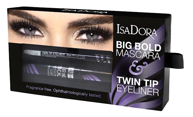 IsaDora Big Bold Mascara & Twin Tip Eyeliner