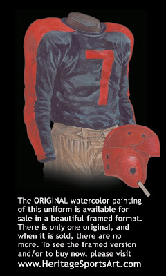 Cleveland Rams 1937 uniform - St. Louis Rams 1937 uniform