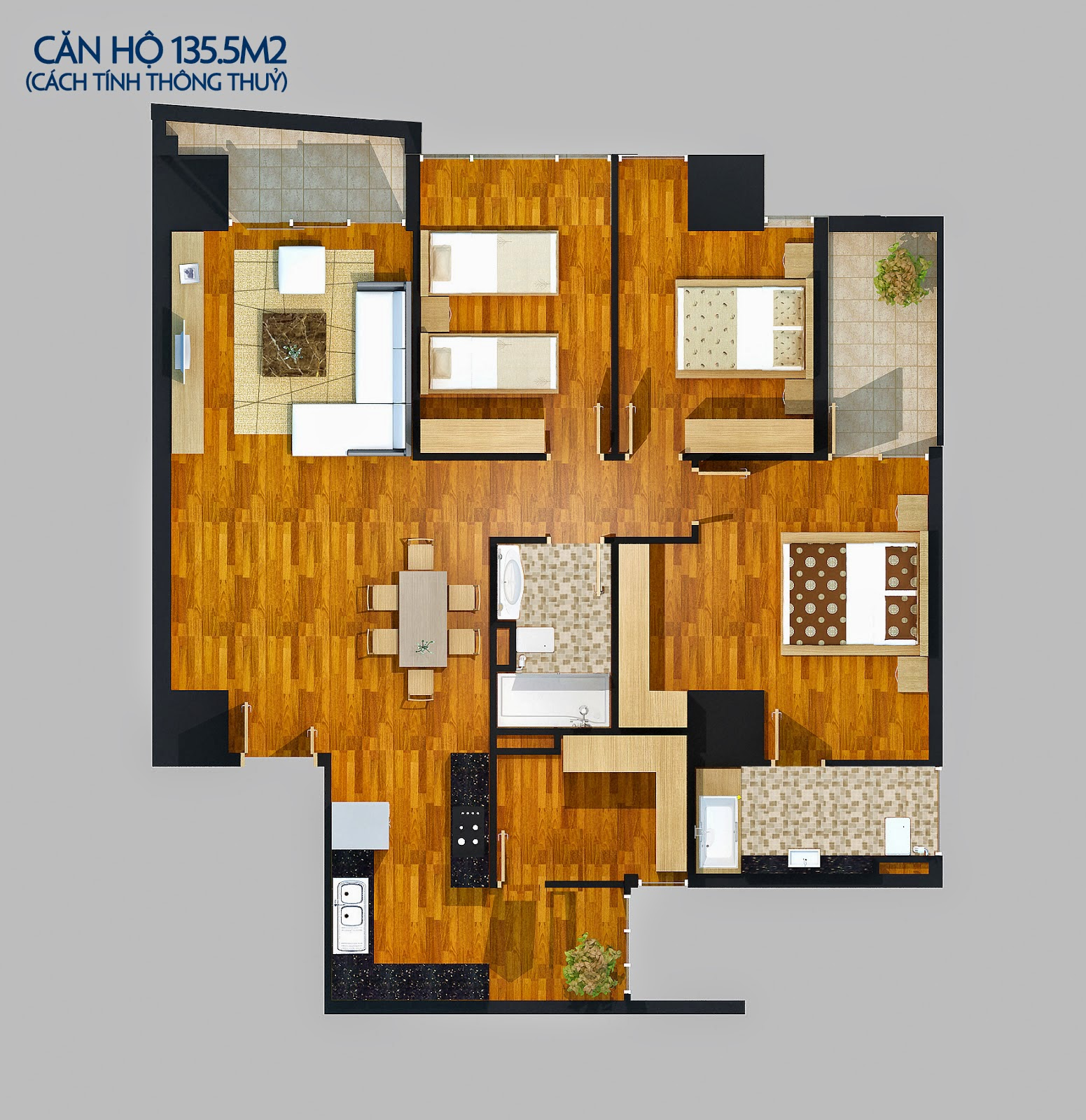 Căn 142 m2
