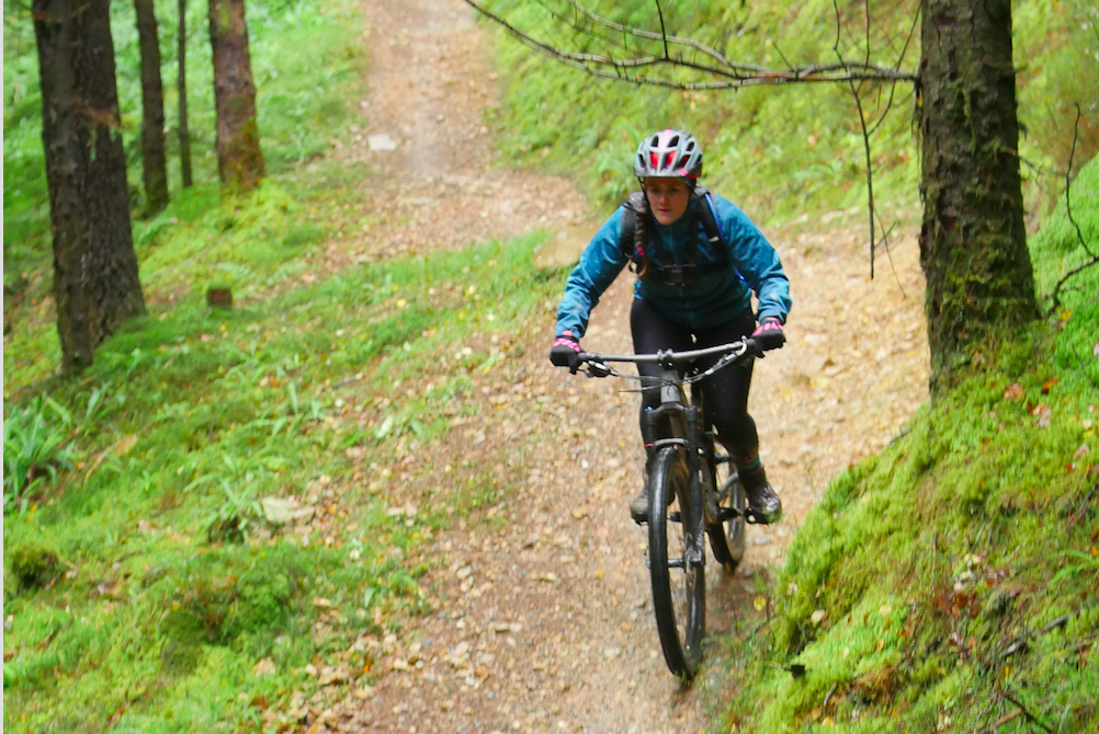 Coed Y Brenin Temtiwr women's mountain biking weekend - Tess Agnew fitness blogger