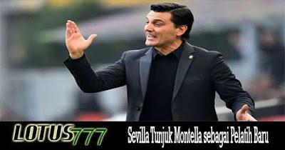 Sevilla Tunjuk Montella sebagai Pelatih Baru