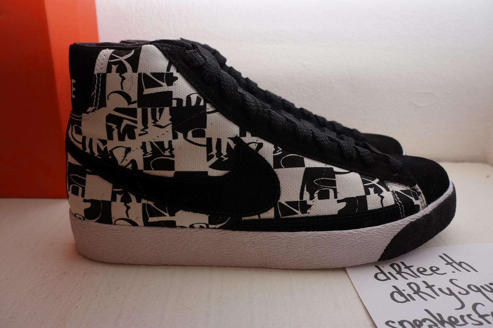los angeles sale competitive price sneakers from Paris: NIKE - Blazer High Premium TZ ...