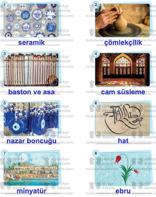 6. Sınıf Başak Yayınları Türkçe Çalışma Kitabı 278. 279. 280. 281. 282. Sayfa Cevapları