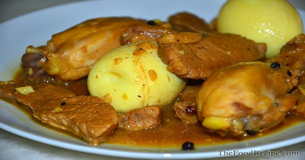 Chicken And Pork Adobo Receipe