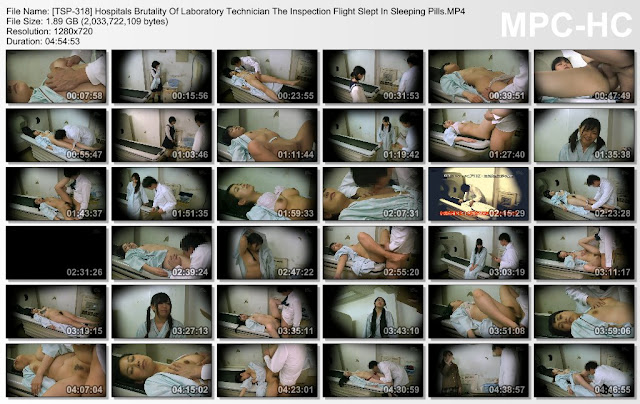 [TSP-318] Hospitals Brutality Of Laboratory Technician The Inspection Flight Slept In Sleeping Pills