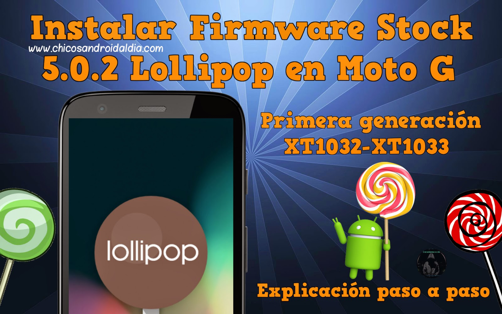 🔥 Motorola Moto G XT1032 Stock ROM Firmware (Flash File)