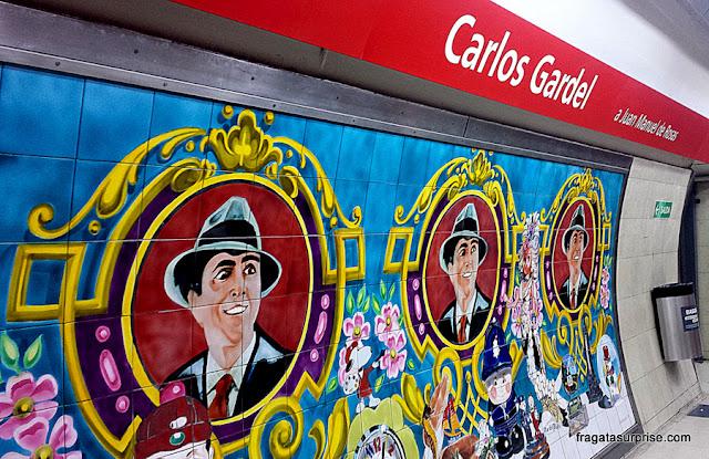 Metrô de Buenos Aires, Estação Carlos Gardel