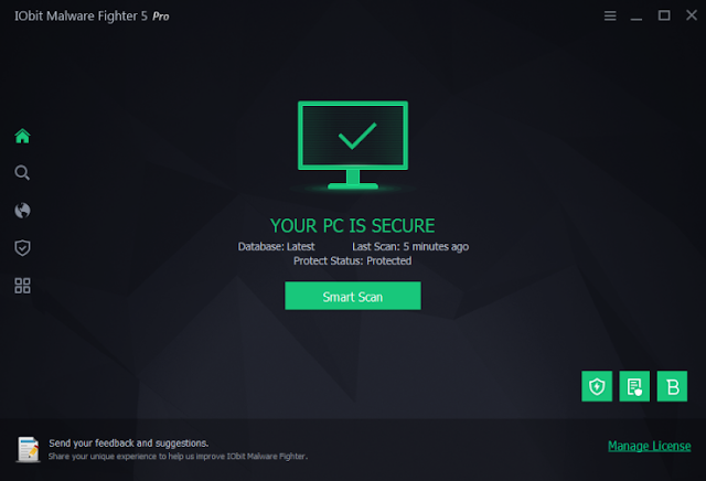 Download IObit Malware Fighter Free For PC Windows 10, 8 And 7 Laptop