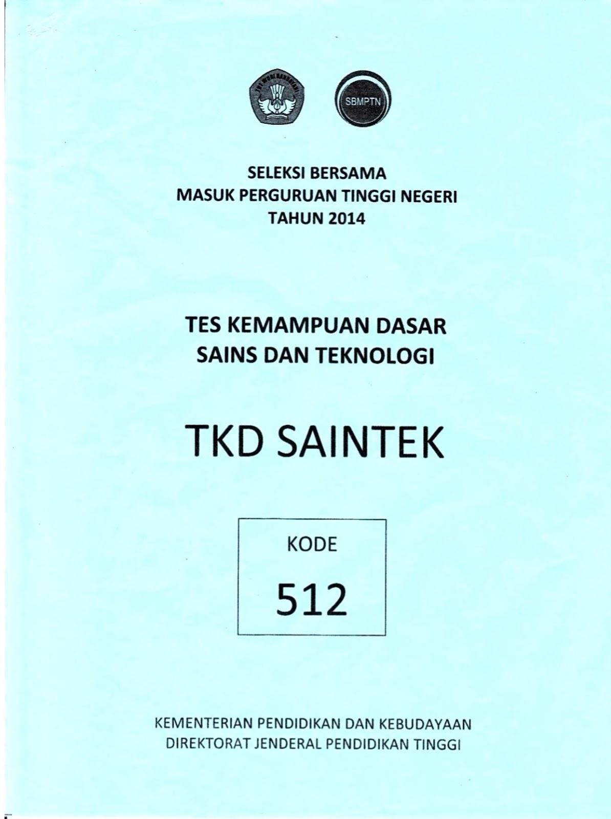 Soal Sbmptn Tkpa 2015 Pdf