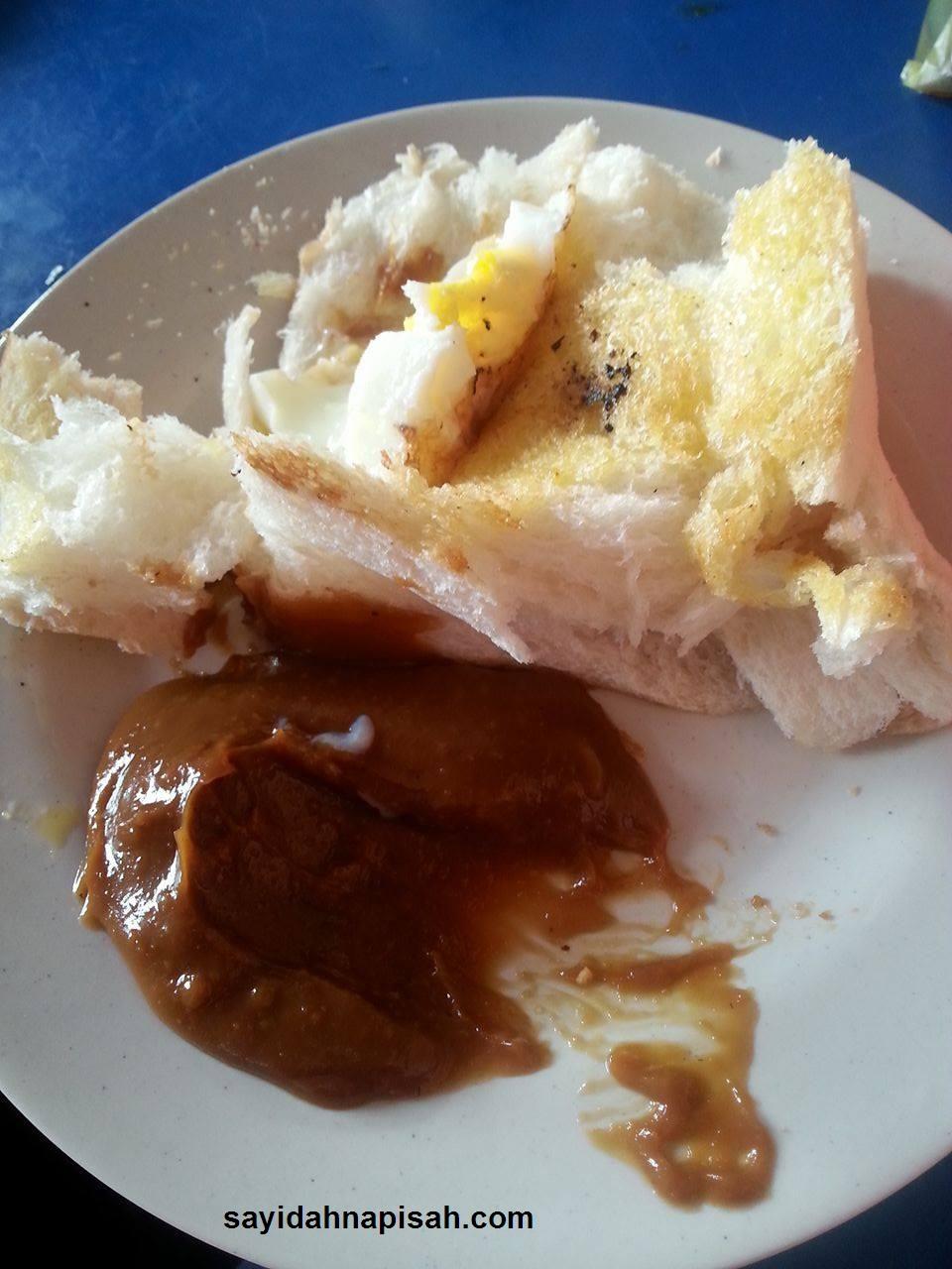 Roti Bakar Mengancam di Yusuf Laksa, Kuala Kangsar