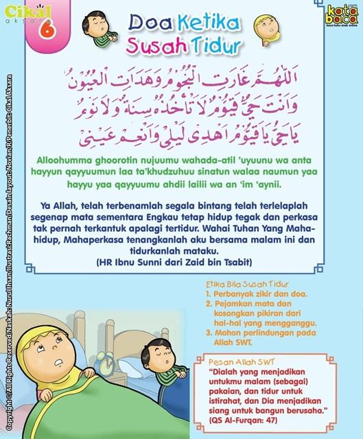 Doa Susah Nak Tidur