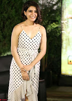 Samantha Ruth Prabhu looks super cute in a deep neck sleeveless short dress ~  Exclusive 016.jpg