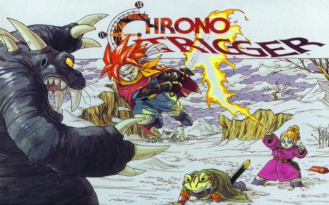 E fechando o terceiro lugar com o clássico Chrono Trigger.