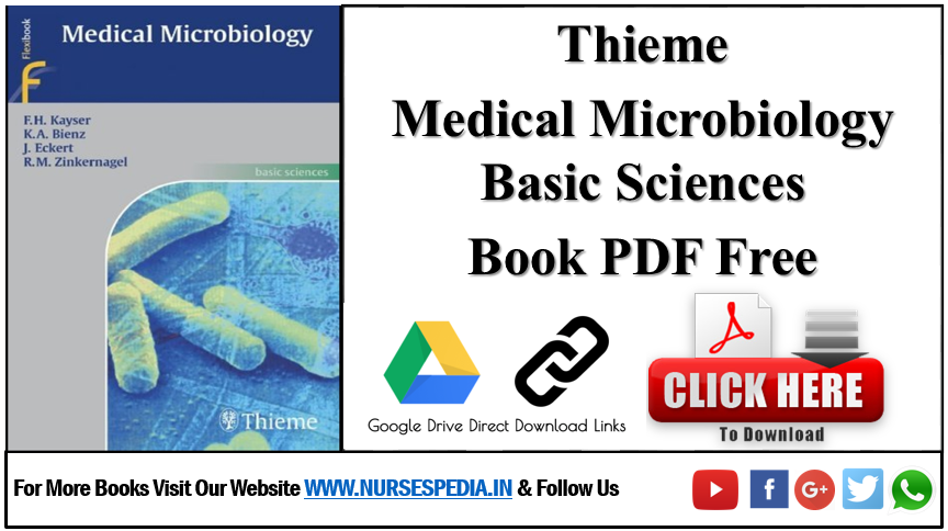 Thieme Medical Microbiology Basic Sciences Book PDF Free