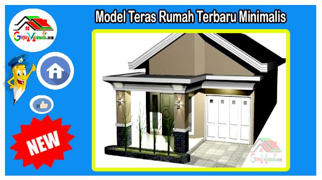 Model Teras Rumah Terbaru Gaya Minimalis