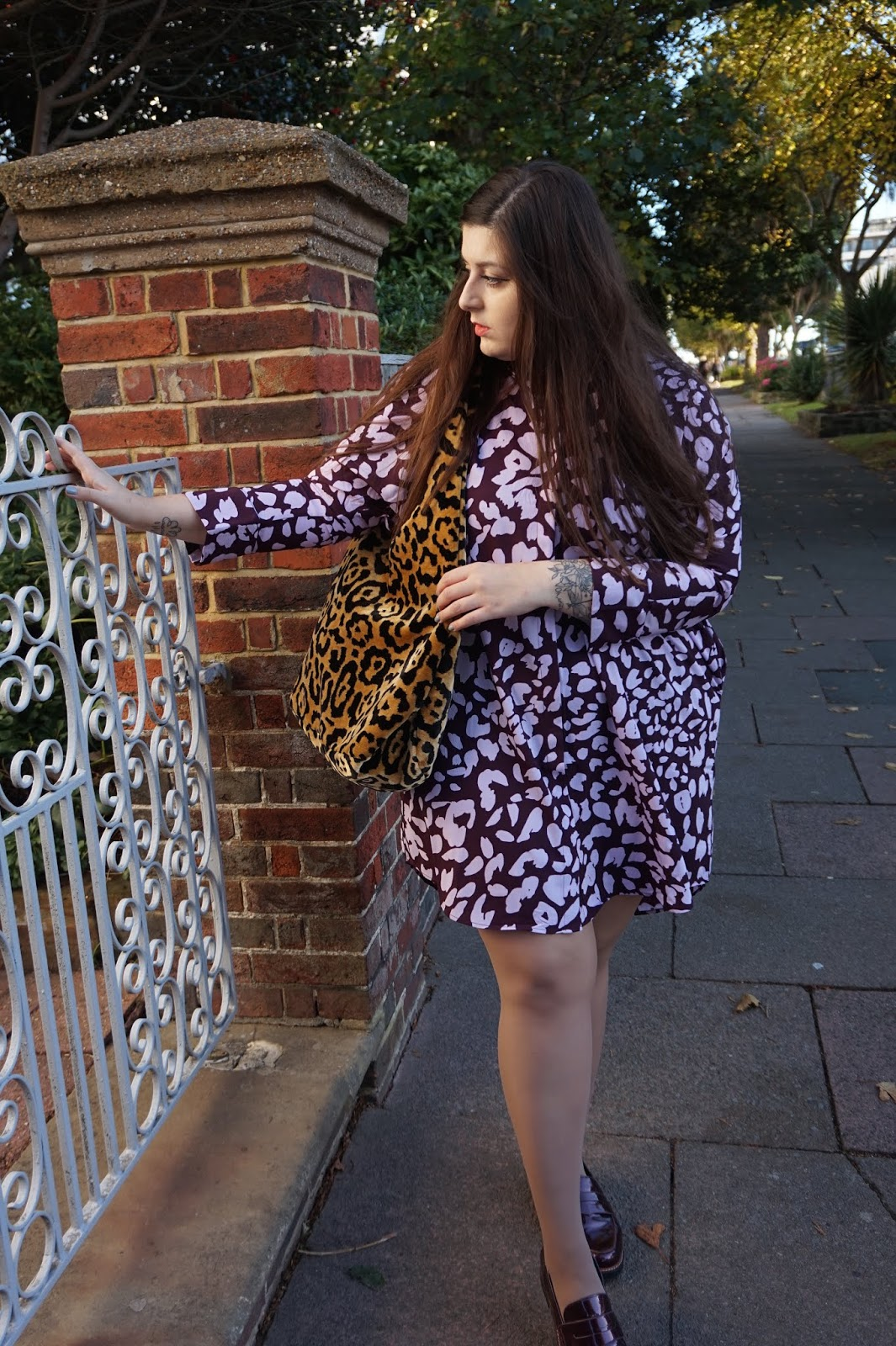 47a7789095 Some people think that wearing one item of clothing in bold leopard print  is brave.. so naturally