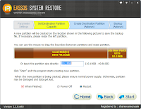 Eassos System Restore Full version Screenshot 3