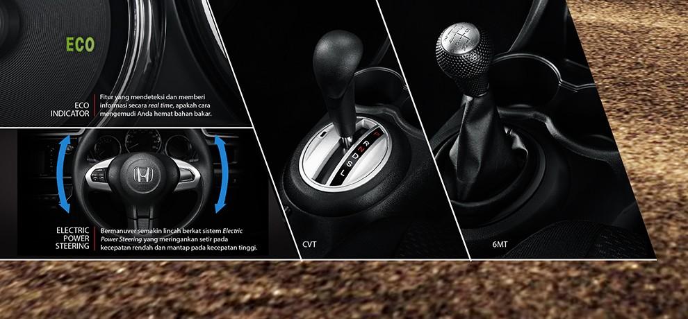 Honda-BRV Transmisi CVT
