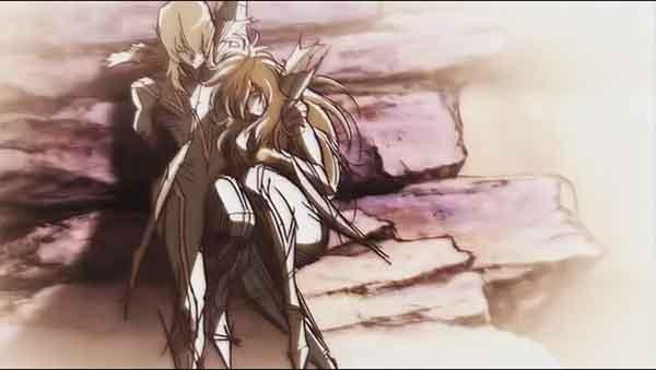 Anime romance yang pasangannya bahagia sampai mati - Casshern Sins ( Dio X Leda)