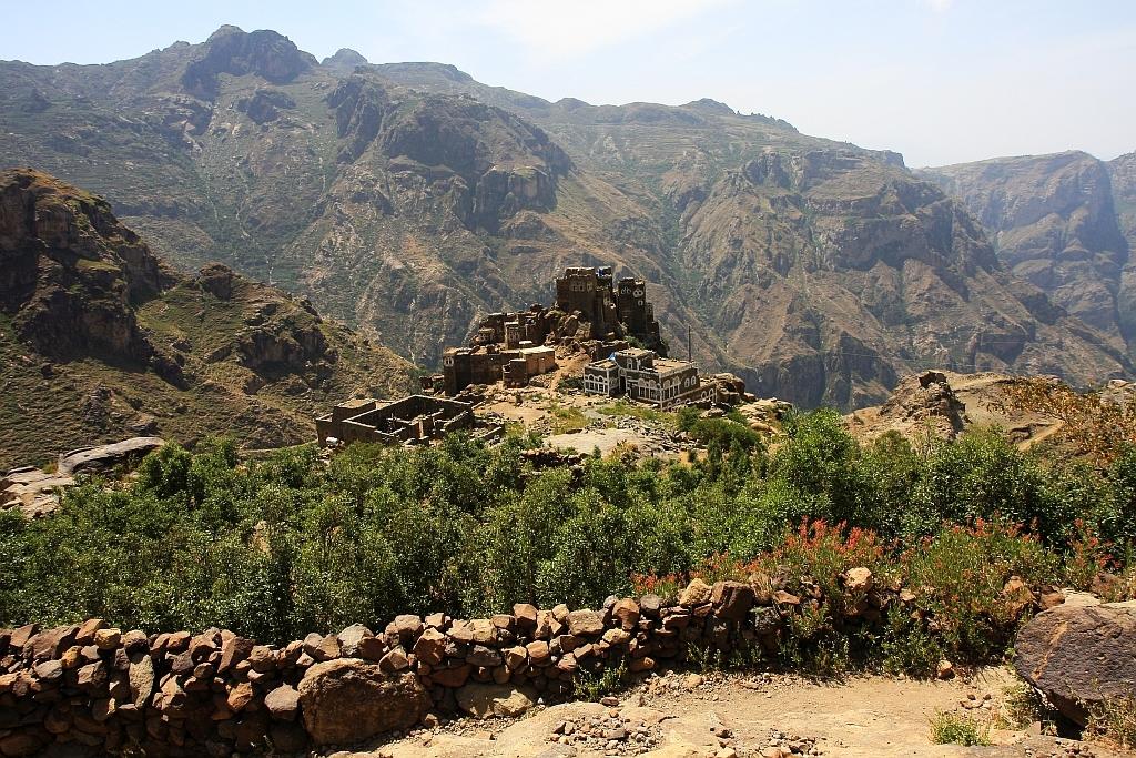Trekking w Jemenie.