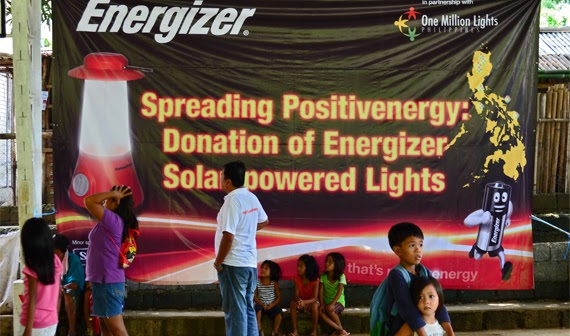 OML x Energizer Gives Lighting Hope in Rizal