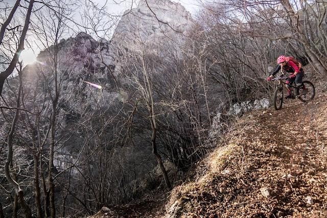 Track MTB: Mountainbike Tour Corno della Paura Monte Baldo Massiv