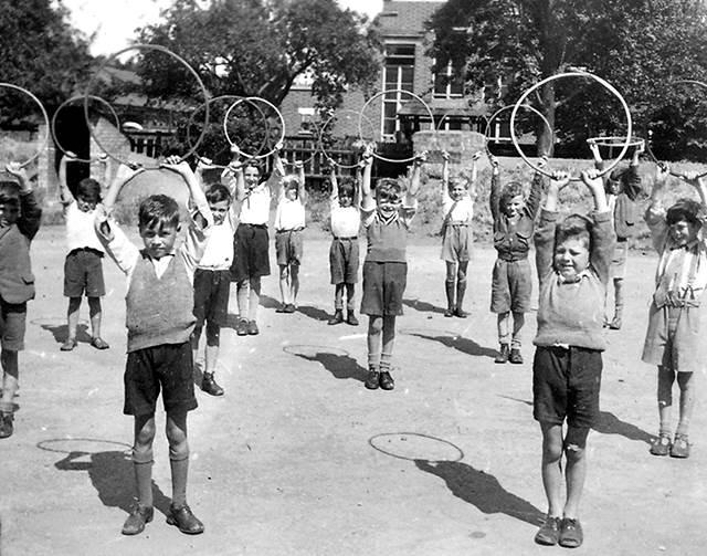 Educación física en el siglo 20