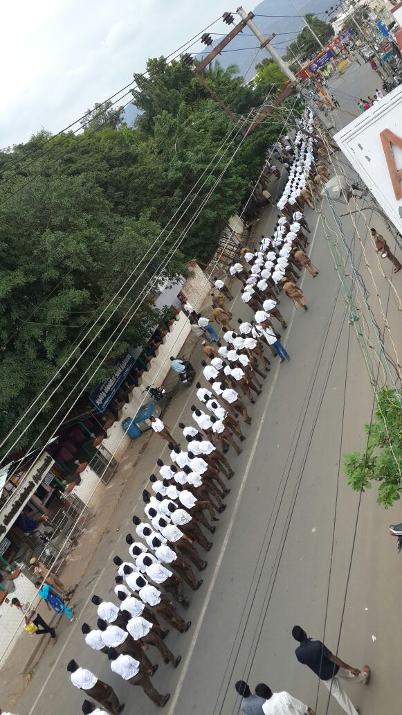 RSS Route March at Salem