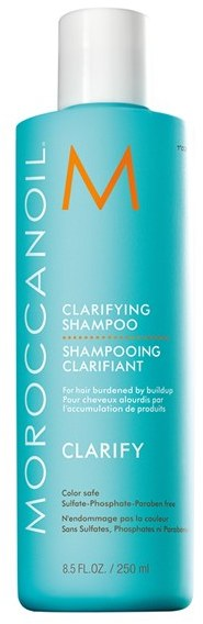 Click here to buy, Moroccanoil Clarifying Shampoo, a ultra-effective clarifying shampoo.