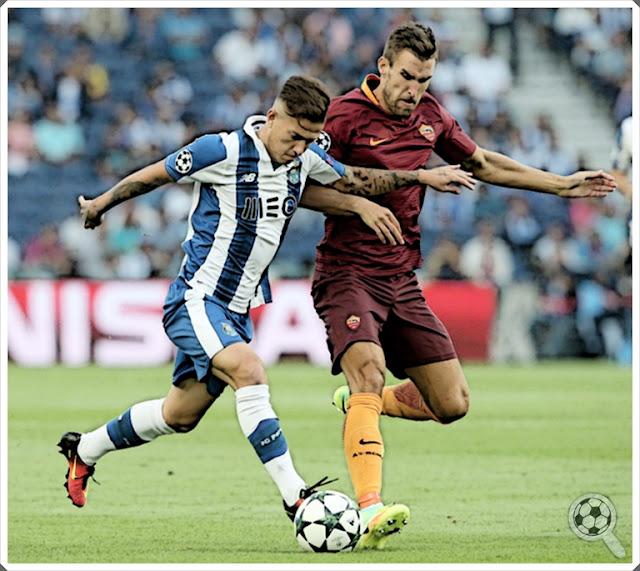 Kevin Strootman Otávio Porto Roma 2016-17
