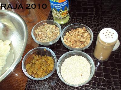 حلويات عيد الفطر جزائرية  بلاطو لاشكال عديدة بعجينة واحدة بالصور 3.jpg