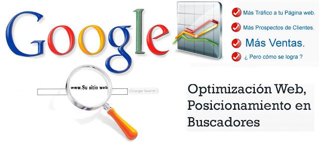 Seo y Posicionamiento Web en Google