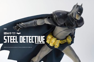 DC Comics Steel Age Detective Batman 1/6 Scale Collectible Figure by Ashley Wood x ThreeA