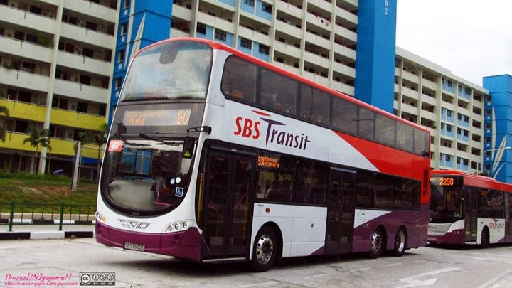 Buses In Gapore February 2014