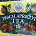 Mlesna Pure Ceylon Black Tea with Peach Apricot Flavour Extract 50 Tea Bags (100g) 1 Box.