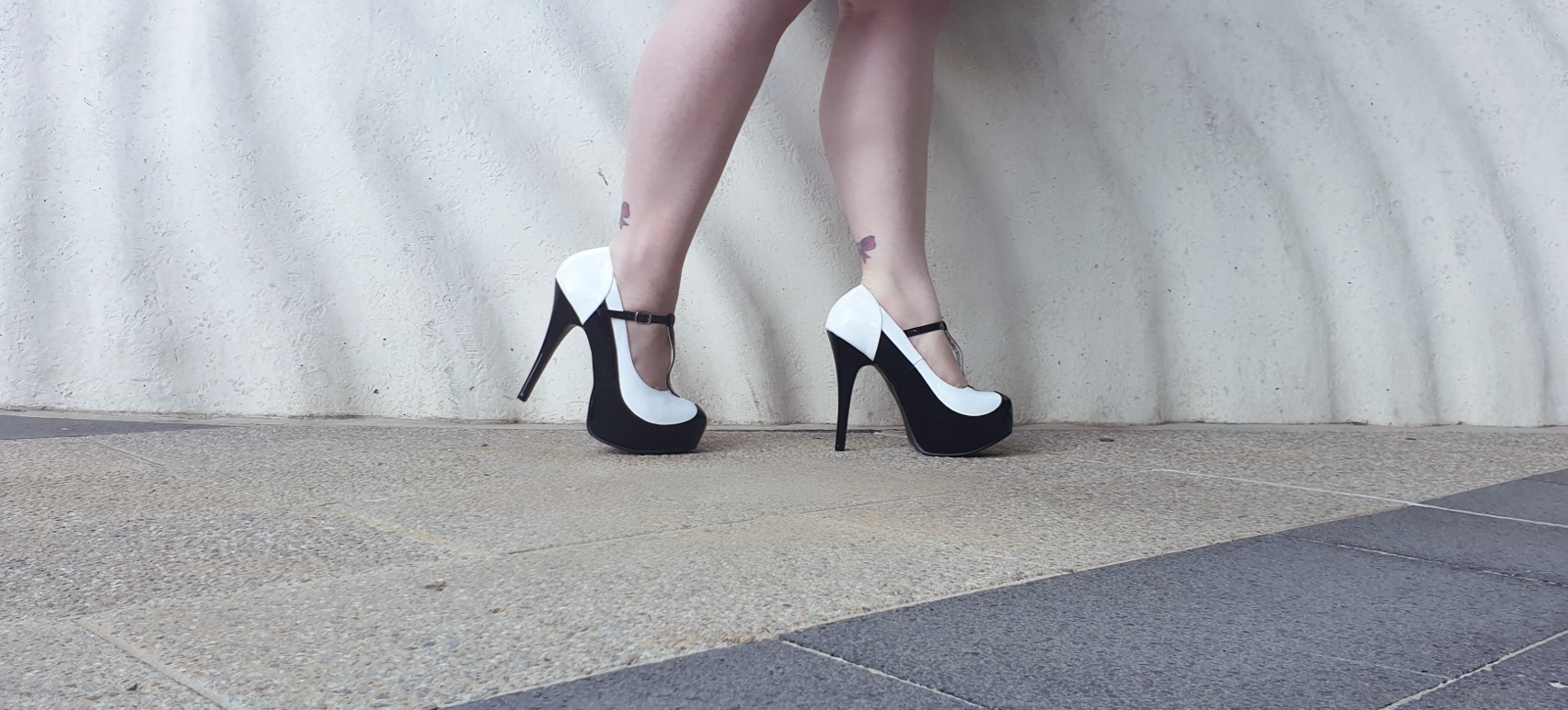 cdf97a202f61e2 Taking inspiration from the mobster styling of yesteryear these stunning  heels are the perfect pair of platforms to pair with your little black  dress or a ...