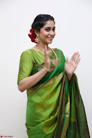 Regina Caasandra Looks Absolutely Gorgeous in Green Saree Choli At Sankarabharanam Awards 2017 ~  Exclusive 003.JPG