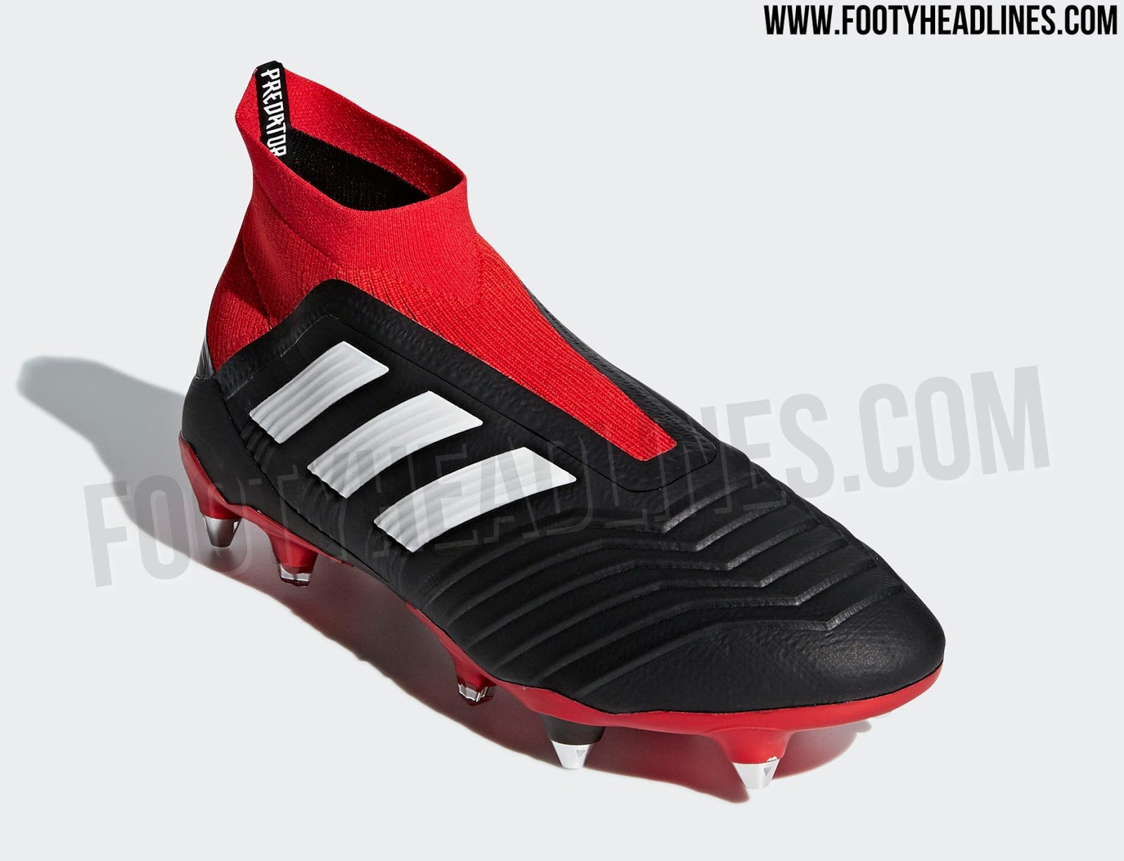buy popular 7932c 66e80 Adidas has lined up a truly classic colorway for its Predator 18 football  boot model to kick off the 2018-2019 season in style. The trademark black, red  and ...