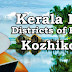 Kerala PSC - Districts of Kerala - Kozhikode