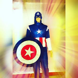 sewa kostum captain america