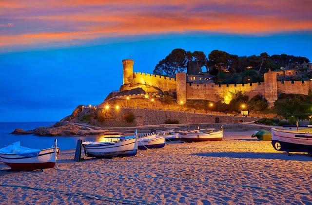 Caló des Moro em Ibiza
