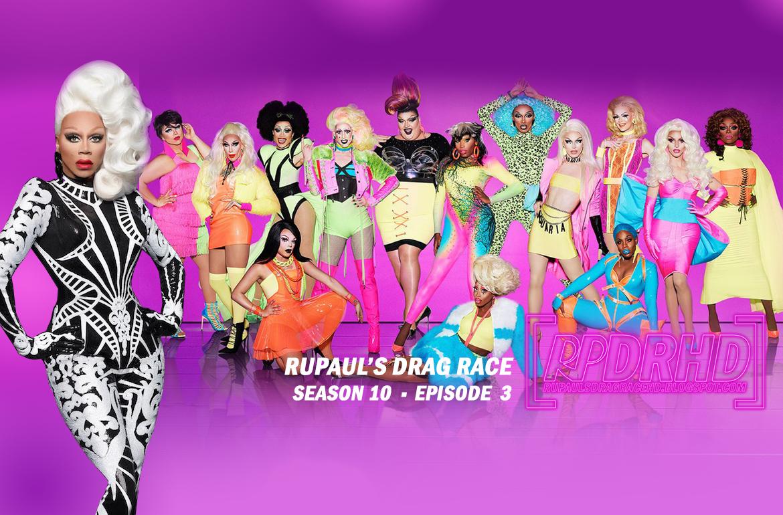 Watch Online, RuPaul's Drag Race, Season 10, Episode 3, Tap That App (Web Rip 360p, Download from MEGA)