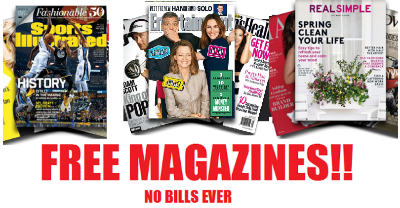 Free Magazine Subscriptions Sports Illustrated Time Bon