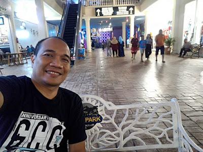 Nge-mall di Jatim Park 3 itu gratis, bayar parkir doang.