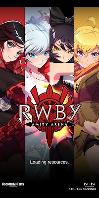 RWBY Amity Arena Loading Screen